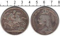 Изображение Монеты Европа Великобритания 1 крона 1890 Серебро