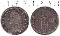 Изображение Монеты Европа Великобритания 1/2 кроны 1745 Серебро VF