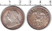 Изображение Монеты Великобритания 1 шиллинг 1900 Серебро XF