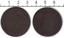 Изображение Монеты Великобритания Остров Мэн 1 пенни 1786 Медь VF