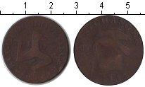Изображение Монеты Великобритания Остров Мэн 1/2 пенни 1733 Медь VF