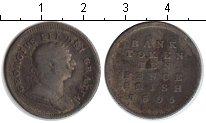 Изображение Монеты Ирландия 10 пенсов 1805 Серебро VF токен     Георг III