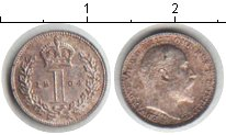 Изображение Монеты Европа Великобритания 1 пенни 1904 Серебро XF
