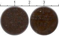 Изображение Монеты Германия Франкфурт 1 хеллер 1821 Медь