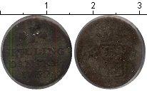 Изображение Монеты Дания 1 скиллинг 1762 Медь