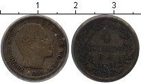 Изображение Монеты Дания 4 скиллинга 1854 Серебро