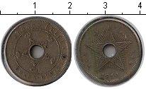 Изображение Монеты Бельгия Бельгийское Конго 5 сантим 1910 Медно-никель