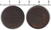 Изображение Монеты Пруссия 3 пфеннига 1872 Медь XF