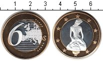 Изображение Мелочь Европа Германия 6 секс евро 0 Биметалл UNC-