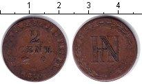 Изображение Монеты Германия Вестфалия 2 сантима 1810 Медь