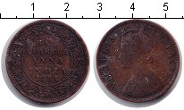 Изображение Монеты Азия Индия 1/4 анны 1884 Медь VF