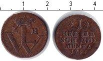 Изображение Монеты Гессен-Кассель 1 геллер 1755 Медь