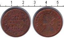 Изображение Монеты Индия 1/4 анны 1875 Медь