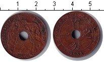 Изображение Монеты Индокитай 1 цент 1938 Медь XF