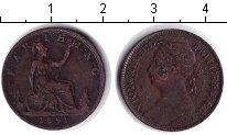 Изображение Монеты Великобритания 1 фартинг 1891 Медь VF Виктория