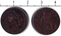 Изображение Монеты Великобритания 1 фартинг 1898 Медь VF