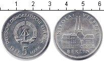 Изображение Монеты ГДР 5 марок 1987 Медно-никель UNC-