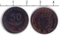 Изображение Монеты Ангола 50 сентаво 1953 Медь VF