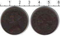 Изображение Монеты Гонконг 1 цент 1876 Медь