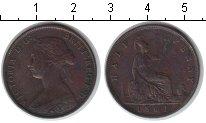 Изображение Монеты Европа Великобритания 1/2 пенни 1861 Медь XF
