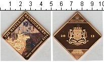 Изображение Мелочь Африка Сомали 25 шиллингов 2013 Позолота Proof