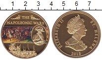 Изображение Мелочь Великобритания Остров Святой Елены 25 пенсов 2013 Позолота Proof