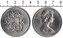 Изображение Мелочь Новая Зеландия 1 доллар 1974 Медно-никель UNC-