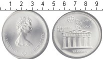 Изображение Монеты Северная Америка Канада 10 долларов 1974 Серебро UNC-