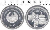 Изображение Монеты Лаос 1000 кип 2008 Серебро Proof-