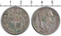 Изображение Монеты Европа Италия 2 лиры 1887 Серебро VF