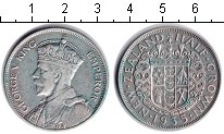 Изображение Монеты Австралия и Океания Новая Зеландия 1/2 кроны 1935 Серебро VF
