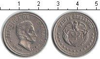 Изображение Мелочь Южная Америка Колумбия 20 сентаво 1960 Медно-никель XF