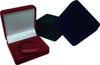 Изображение Аксессуары для монет Бархат Подарочный футляр для монеты Ø 70 мм 0