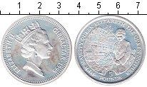 Изображение Монеты Гибралтар 5 фунтов 1995 Серебро Proof- Королева Елизавета I