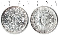 Изображение Монеты Европа Италия 500 лир 1990 Серебро Proof