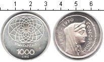 Изображение Монеты Европа Италия 1000 лир 1970 Серебро XF