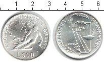 Изображение Монеты Европа Сан-Марино 500 лир 1988 Серебро UNC-