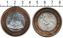 Изображение Монеты Мексика 100 песо 2007 Биметалл UNC Штат Синалоа