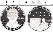 Изображение Монеты США 1 доллар 2009 Серебро Proof-