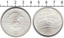 Изображение Мелочь США 1 доллар 1991 Серебро UNC-