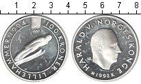 Изображение Монеты Норвегия 100 крон 1992 Серебро Proof-