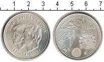 Изображение Мелочь Европа Испания 20 евро 2010 Серебро UNC-