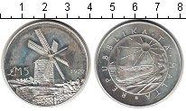 Изображение Монеты Мальта 5 фунтов 1977 Серебро XF