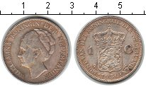 Изображение Мелочь Европа Нидерланды 1 гульден 1930 Серебро