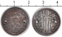 Изображение Монеты Европа Ватикан 1 гроссо 0 Серебро