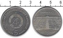 Изображение Мелочь ГДР 5 марок 1986 Медно-никель UNC