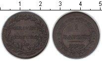 Изображение Монеты Европа Швейцария 1 батзен 1799 Серебро VF