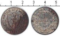 Изображение Монеты Швейцария 1 батзен 1808 Серебро