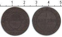Изображение Монеты Швейцария 1 батзен 1809 Серебро VF