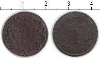 Изображение Монеты Германия Сант-Галлен 1/2 батзена 1807 Медь XF